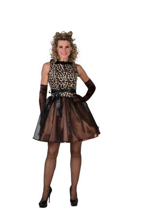 Leopard Kleid Sheeba