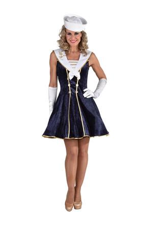 Matrosin-Kleid dunkelblau – Bild 1