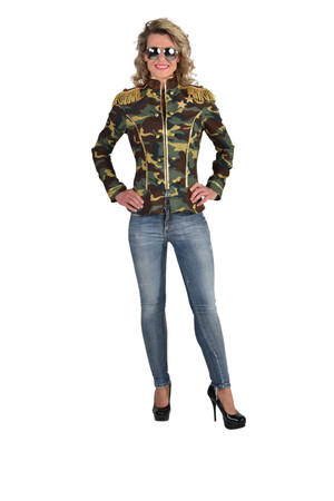 Camouflage Jacke – Bild 2