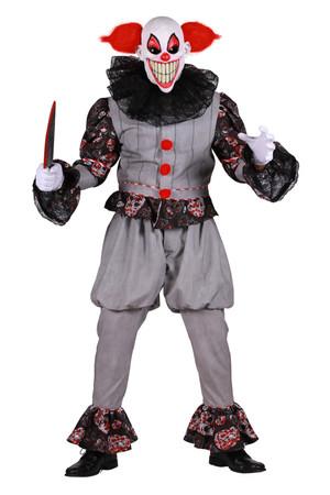 Gruseliger Clown-Anzug – Bild 1