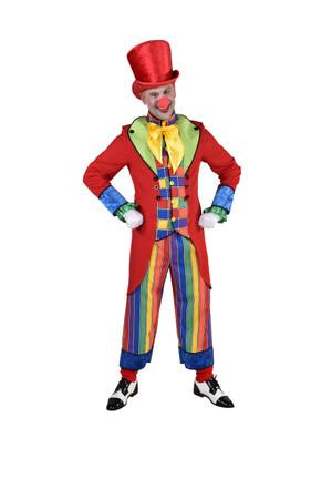Clown-Anzug Streifen / Karo – Bild 1