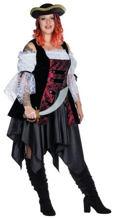 Piratin Kleid Fullcut