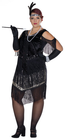 Charleston Kleid Fullcut