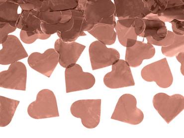Konfetti-Shooter Herzen roségold – Bild 2