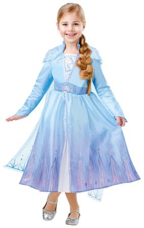 Elsa Frozen 2 Deluxe Kleid Eiskönigin – Bild 1