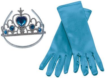 Prinzessin Set blau – Bild 1