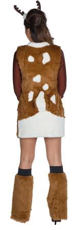 Reh-Kleid mit Stulpen – Bild 3