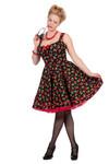 Rockabilly Kleid Cherry Kirsche 50er Jahre 001