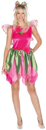 Waldfee Kleid mit Flügeln – Bild 1