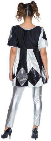 Pierrot Kleid Shiny – Bild 2