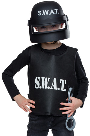 S.W.A.T. Helm Kinder