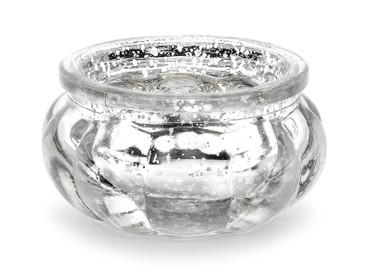 Teelichthalter silber – Bild 1