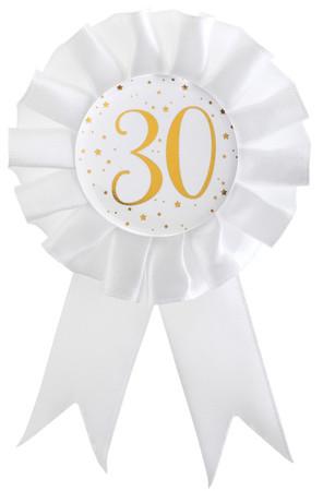 Anstecker / Rosette 30. Geburtstag – Bild 1