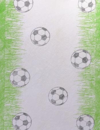 Sizoflor Tischläufer Fußball 5 m x 30 cm
