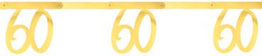 Girlande '60' gold – Bild 1