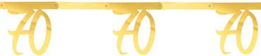 Girlande '70' gold – Bild 1