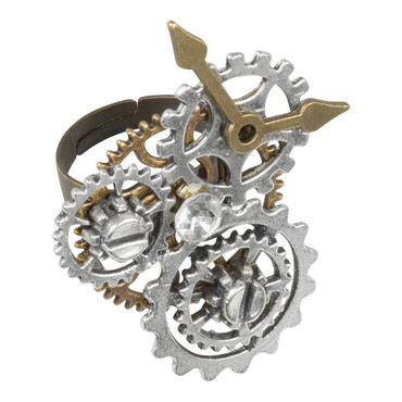 Fingerring Steampunk