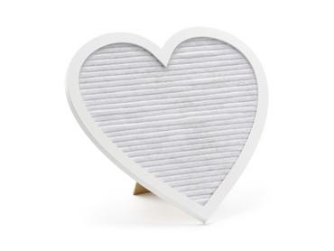 Buchstaben-Tafel Herz