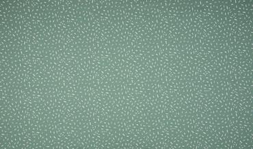 Baumwoll-Jersey Konfetti mintgrün-weiß