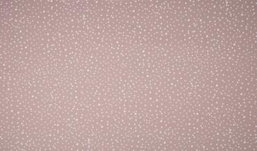 Baumwoll-Jersey Punkte rosa-weiß