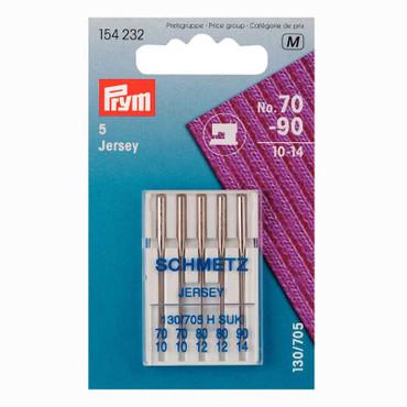 5 Nähmaschinen Nadeln Jersey Nr 70-90 Prym