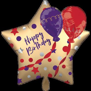 3D Folienballon Happy Birthday