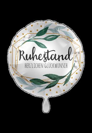 Folienballon Endlich Ruhestand Herzlichen Glückwunsch