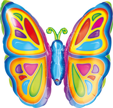 Folienballon Schmetterling