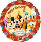 Folienballon Happy Birthday Mickey Mouse 001