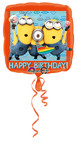 Folienballon Happy Birthday Minions 001