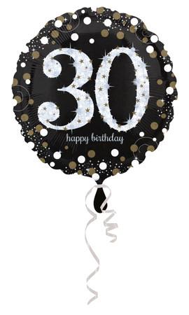 Folienballon Sparkling 30