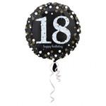 Folienballon Sparkling 18 001