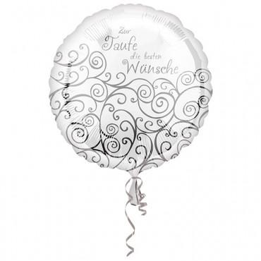 Folienballon Taufe