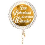 Folienballon Ruhestand 001