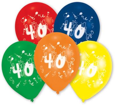 10 Ballons 40