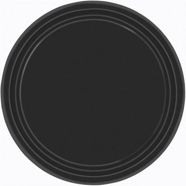 8 Partyteller schwarz