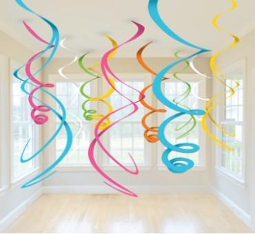 Swirl Decoration bunt