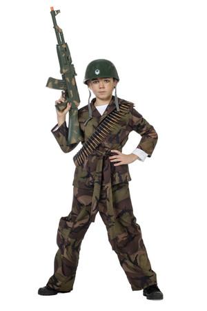 Camouflage-Anzug