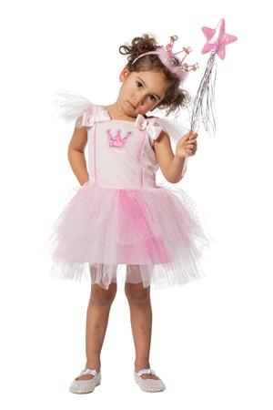 Ballerina-Kleid rosa – Bild 1