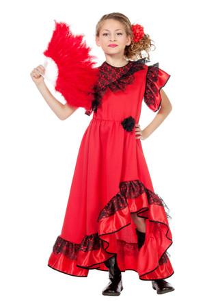 Carmen-Kleid Spanierin – Bild 1