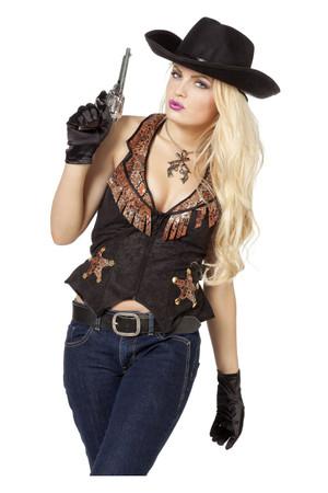 Cowboy Weste für Damen – Bild 1