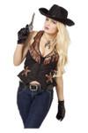 Cowboy Weste für Damen 001