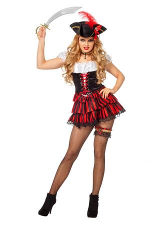 Kleid Sexy Piratin – Bild 1