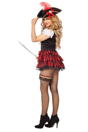 Kleid Sexy Piratin – Bild 2