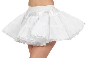 Petticoat de Luxe silber
