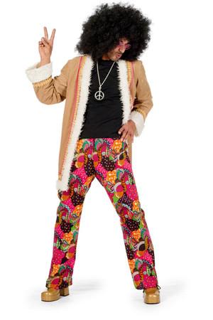 Hippie-Anzug mit langem Mantel – Bild 1