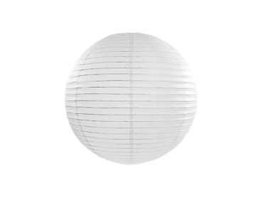 Deko-Laterne Ø 35 cm weiß