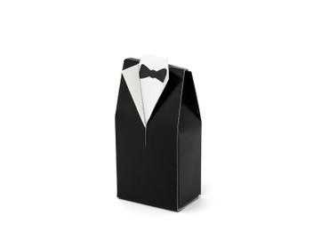 10 Geschenkboxen Anzug schwarz – Bild 1