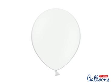 50 Pastell-Ballons weiß – Bild 1