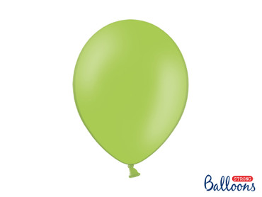 10 Luftballons hellgrün
